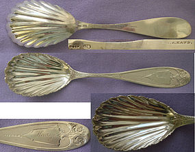 LOVELY COIN  SERVING SPOON � JAMES WATTS