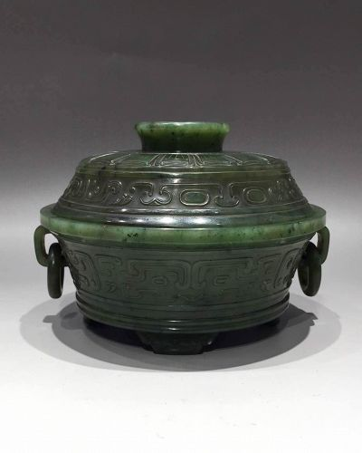 Chinese jade bowl