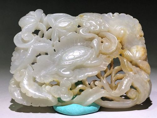 12th Century Chinese Jade Carving
