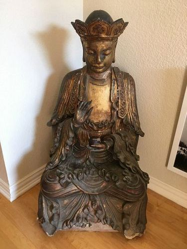16th Century Wood Buddha