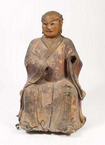 Chinese Wood Figure