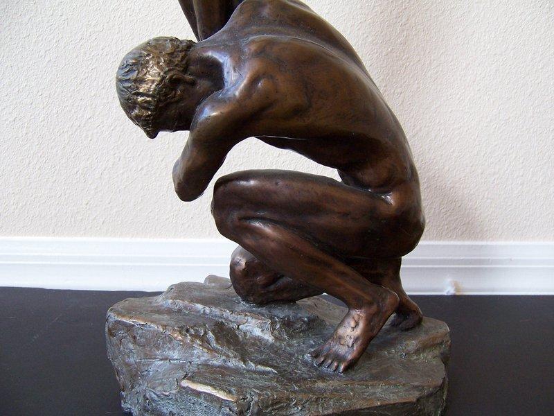 "Misha Frid, ""Earth and Sky"" in Bronze"