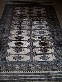 A Large and Fine Artist Signed Pakistani Bokhara Rug