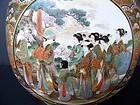 A Superb and Large Satsuma Tea Caddy, Meiji 1868-1912