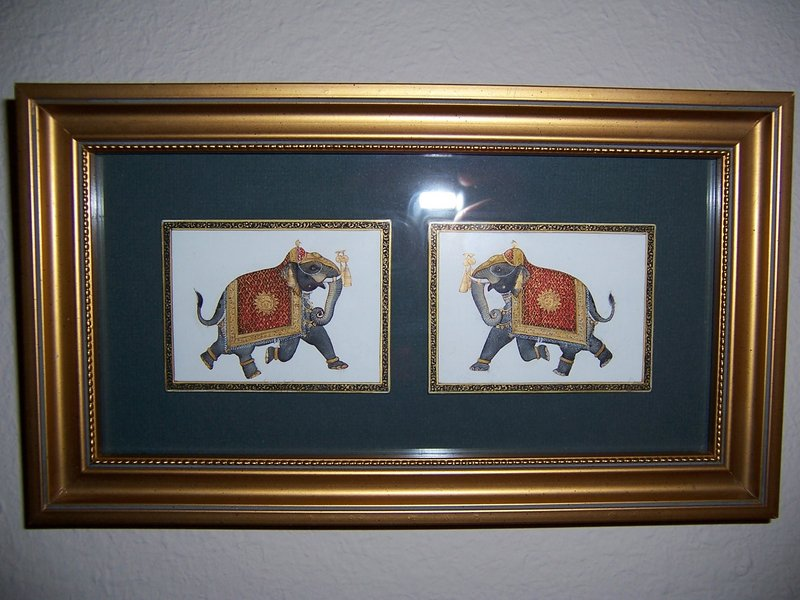 A Very Good Pair of Indian Miniatures