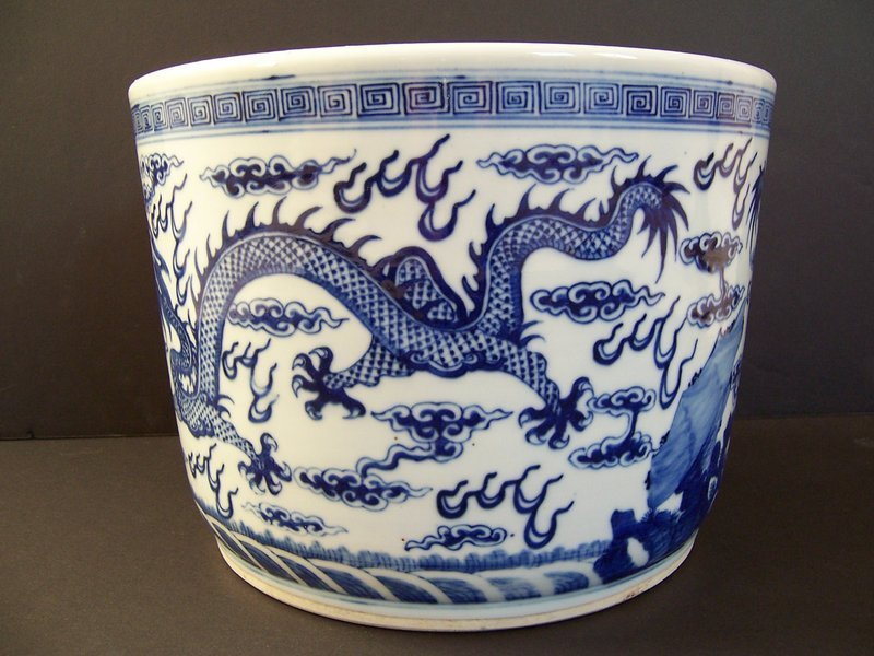 An Inscribed Five-Clawed Dragon Memorial Censer, 1934