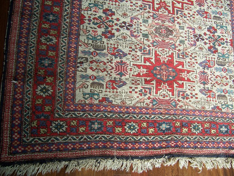 A Handsome Caucasus Accent Rug, Early 20th century