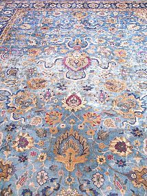 A Fine 19th Century Lahore Carpet (India)