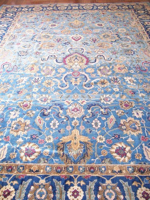 A Fine 19th Century Lahore Carpet (India)