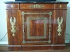 A Superb Empire Style Mahogany Side-Cabinet, 1850-75