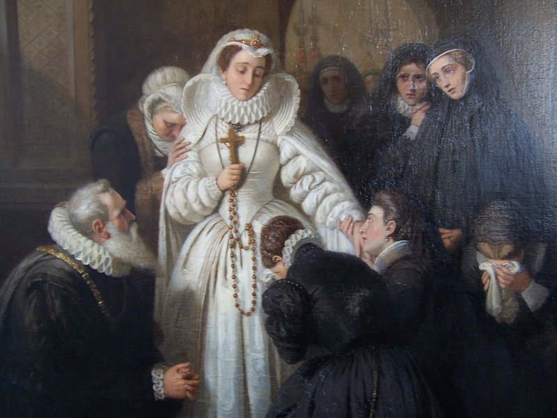 English School, 19th Century, Mary Queen of Scots