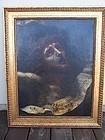 A Very Good 17th century Italian School Oil Painting, Ecce Homo