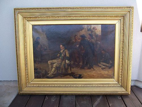 A Very Fine Historical Oil Painting by R. A. Hillingford (1828-1904)