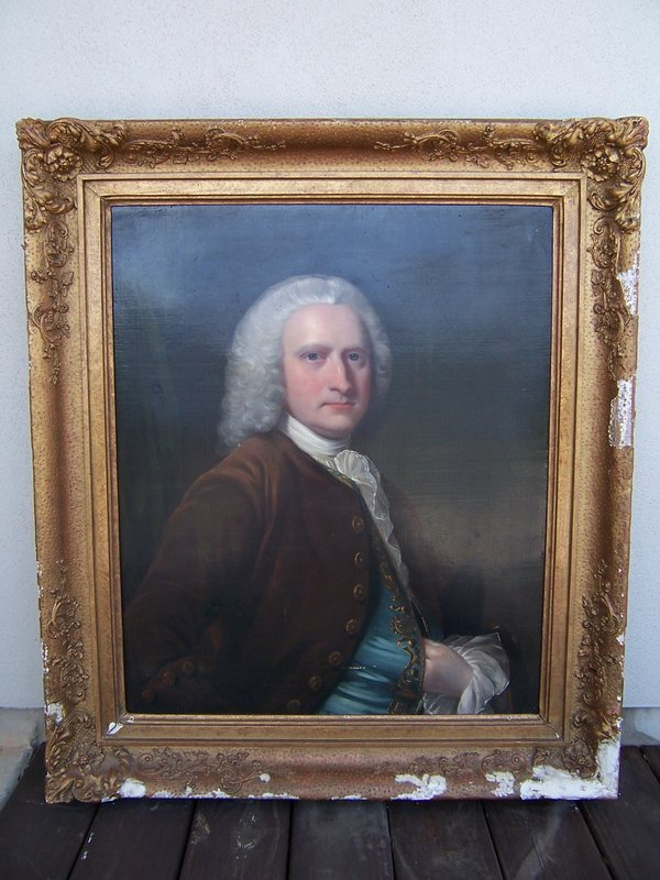 Circle of Thomas Hudson (1701-1779) Portrait of a Gentleman