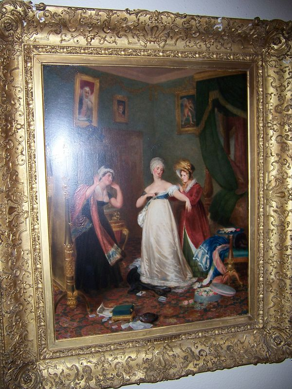 A Very Fine 19th Century Oil on Board by Henry J. Richter (1772-1857)