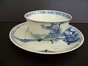 A Ca Mau Shipwreck Teacup and Saucer, ex- Sotheby's