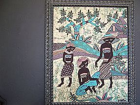 "A Beautiful Indonesian Batik ""Painting"""