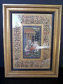 A Very Fine Indian Miniature Painting