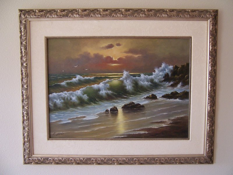 A Good Original Oil Painting by Fernando Giron