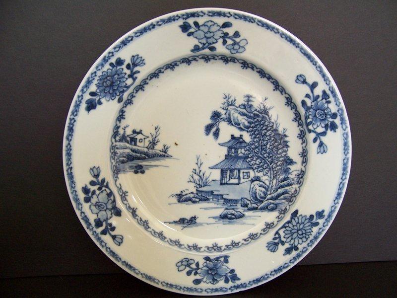 A Nanking Cargo Shipwreck Dish, ex-Christie's,  ca 1752