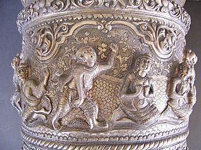 Additional  Photos  for  Burmese Silver Bowl # 941901