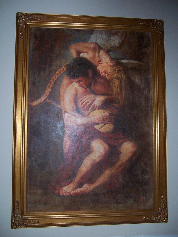 Tomasz Rut:  Musica Stellarum, Original Oil, 1998