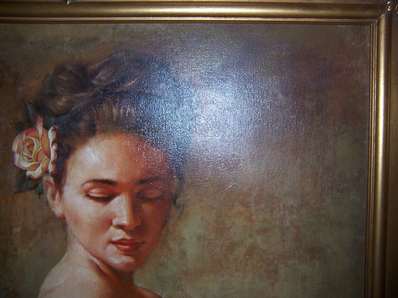 Tomasz Rut:  Celesta, Original Oil, 1997