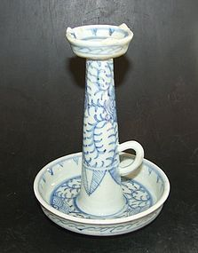 Chinese candle stick, Tongzhi ( 1862 - 1874 )