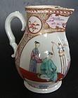 Milk jug in mandarin porcelain, Qianlong (1736 - 1795)