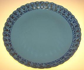 Large Platter, Kangxi (1662 - 1722)