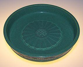 Robin's egg bowl, Late Qing/Republic