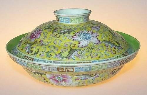 Bowl and lid, Republic period