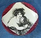 French porcelain dish around 1820