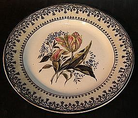 Very rare Rörstrand plate around 1825