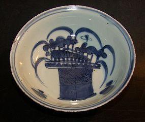 Transitional fruit bowl, (1620 -1683)