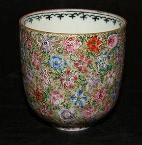 Cup in Millefiore decoration, Republic (1912 - 1949)