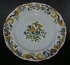 18:th century faience plate, around 1760