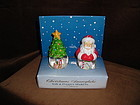 CHRISTMAS SNOW GLOBES WITH S&P SHAKERS