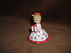 LEFTON PORCELAIN VALENTINE GIRL