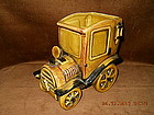 LEFTON 1930�s AUTOMOBILE PORCELAIN PLANTER