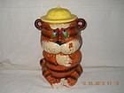 RARE VINTAGE TIGER COOKIE JAR