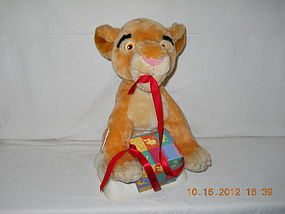ANIMATED  PLUSH  LION  KING