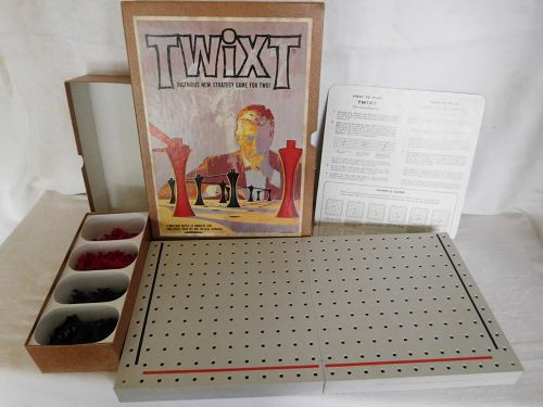 VINTAGE TWIXT 1962   3M BRAND BOOKSHELF BOARD GAME
