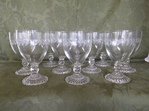 SET of 10 WATER GLASSES