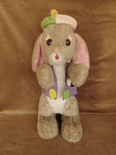 RUSHTON  PLUSH RABBIT