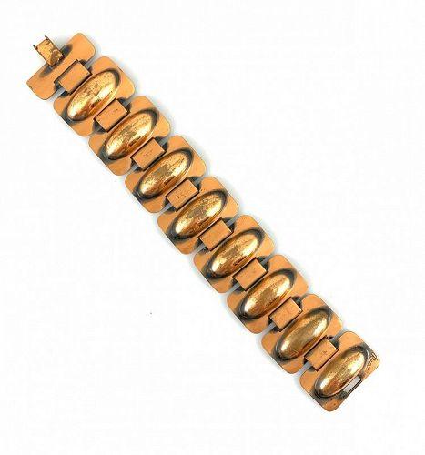 RARE 1950s RENOIR California Handmade Copper Modernist BRACELET