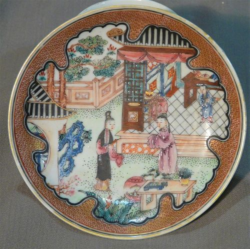 Chinese export porcelain Yong zheng period