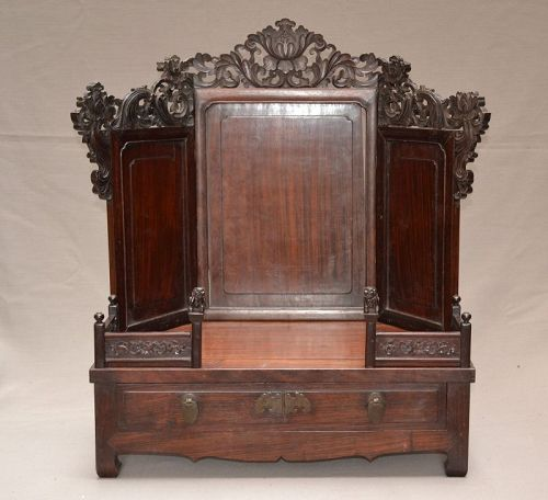 Chinese furniture in hard wood