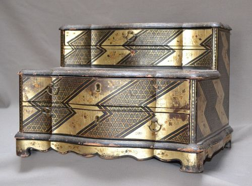 Lacquer furniture for export.China 18th century.