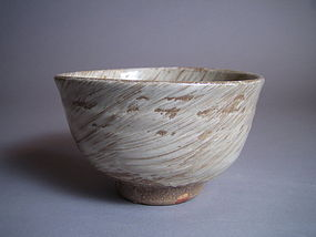 Uchi-hakeme Chawan by Yamaguchi Takeshi